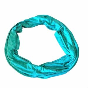 Apana Women's Infinity Scarf Teal/ Mint
